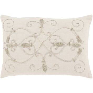 Wayfair Decorative Pillow Covers : Lark Manor Pensee 100% Linen Lumbar Pillow Cover Wayfair