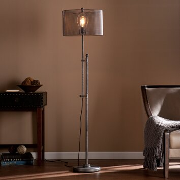 trent austin design germain 66 floor lamp reviews wayfair. Black Bedroom Furniture Sets. Home Design Ideas