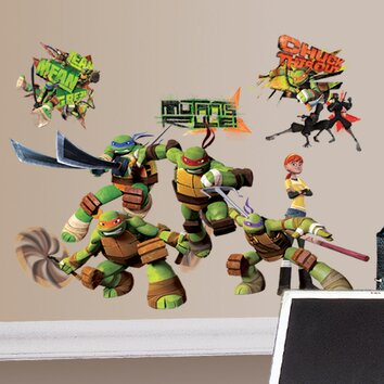 Room Mates Peel And Stick Teenage Mutant Ninja Turtles