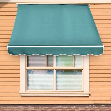 Outsunny 6ft H Rectangle Window Awning Amp Reviews Wayfair