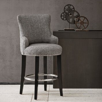 Madison Park Tyler 26 Quot Bar Stool Wayfair