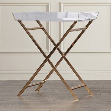Mercer41 Fort Pierce Clinton Acrylic Tray Table Amp Reviews