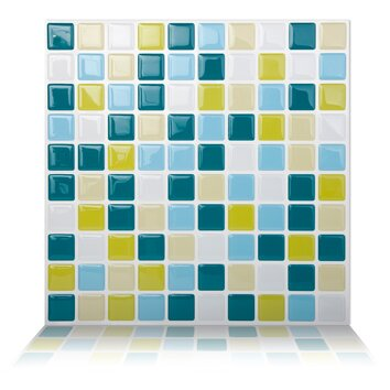 Tictactiles 9 84 Quot X 9 84 Quot Peel Amp Stick Mosaic Tile In