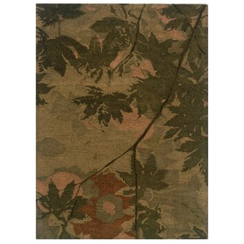 The Conestoga Trading Co Hand Tufted Olive Forest Green