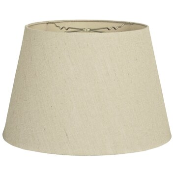 12 timeless linen tapered shallow drum lamp shade wayfair. Black Bedroom Furniture Sets. Home Design Ideas