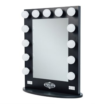 vanity girl hollywood broadway lighted vanity mirror reviews. Black Bedroom Furniture Sets. Home Design Ideas