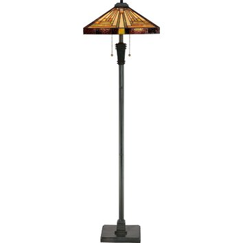 Quoizel Vintage 59 5 Quot Floor Lamp Amp Reviews Wayfair