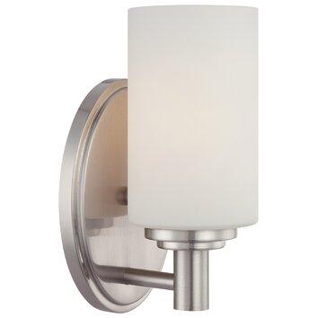 Bathroom Vanity Lights Reviews : Thomas Lighting Pittman 1 Light Bath Vanity Light & Reviews Wayfair