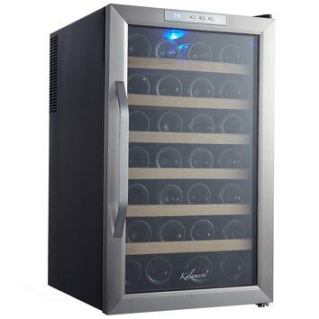 Kalamera 28 Bottle Freestanding Wine Refrigerator Wayfair