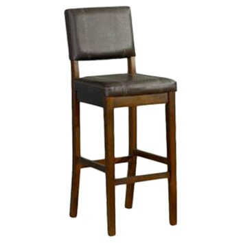 Linon Milano 24 Quot Bar Stool Amp Reviews Wayfair