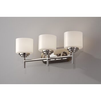 Feiss Malibu 3 Light Bath Vanity Light & Reviews Wayfair