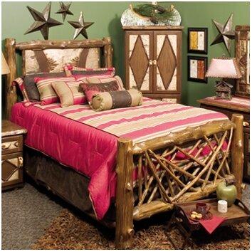 Fireside lodge adirondack panel bed wayfair Adirondack bed frame