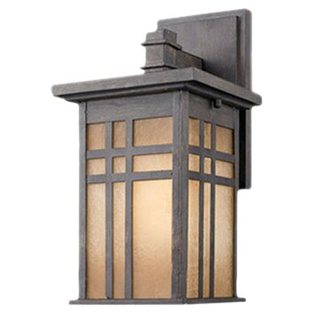 Wayfair Indoor Wall Sconces : Golden Lighting Marcia Outdoor Wall Lantern & Reviews Wayfair