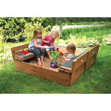 Badger Basket Deluxe Convertible Cedar 4 Ft Square