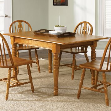 liberty furniture country haven extendable dining table reviews wayfair. Black Bedroom Furniture Sets. Home Design Ideas