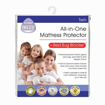 Fresh Ideas All In One Bed Bug Blocker Mattress Protector