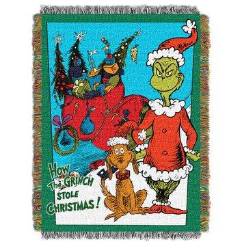 Northwest Co Dr Seuss Christmas Smile Throw Wayfair