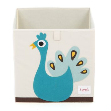 3 Sprouts Peacock Storage Box Amp Reviews Allmodern