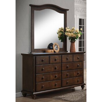 Better Homes Gardens Hillbrooke 8 Drawer Double Dresser Wayfair