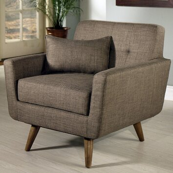 Abbyson Living Paisley Tufted Fabric Arm Chair Amp Reviews