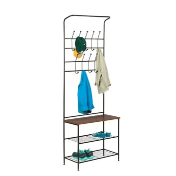 Honey Can Do Entryway Storage Valet Stand