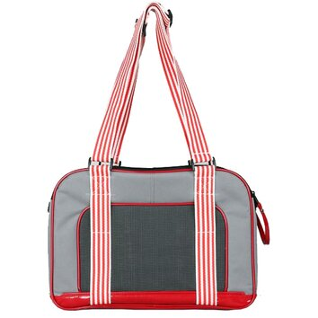 Pet life 39 candy cane 39 fashion pet carrier reviews wayfair for Chaise candie life
