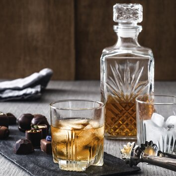 Bormioli Rocco Dedalo 7 Piece Whiskey Set Amp Reviews Wayfair