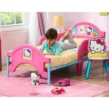 hello kitty bunk beds delta children hello kitty convertible toddler bed 15543