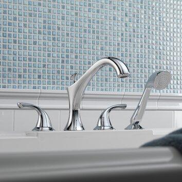 Delta Addison Roman Diverter Tub Faucet Shower Faucet Trim
