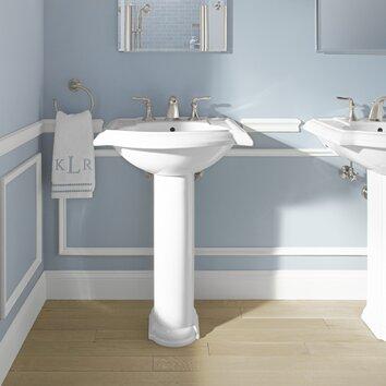 Kohler Devonshire 24 Quot Pedestal Bathroom Sink Amp Reviews