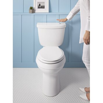 kohler cimarron comfort height 2 piece elongated gpf