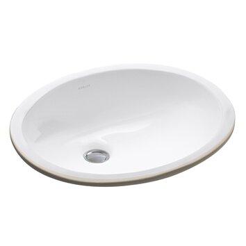 Kohler Caxton 15 Quot X 12 Quot Undermount Bathroom Sink With