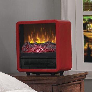 Duraflame Twin Star Home 1 500 Watt Portable Electric Cabinet Heater Reviews Wayfair