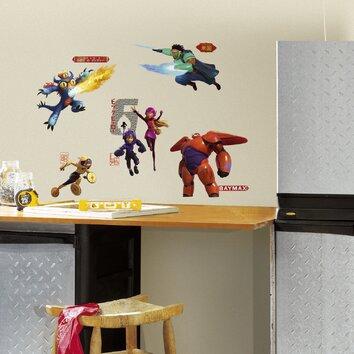 Room Mates Popular Characters Big Hero 6 Wall Decal Wayfair