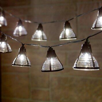 String Lights Review : Smart Solar Solar 20-Light 14.75 ft. Lantern String Lights & Reviews Wayfair