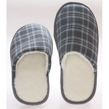 Deluxe Comfort Checkered Cotton Wool Fleece Lining Mens