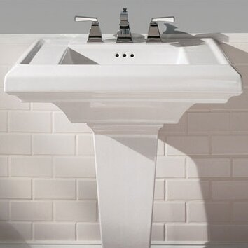 American Standard Town Square 27 Quot Pedestal Bathroom Sink