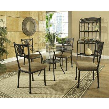 Steve Silver Furniture Carolyn 5 Piece Dining Set Reviews Wayfair