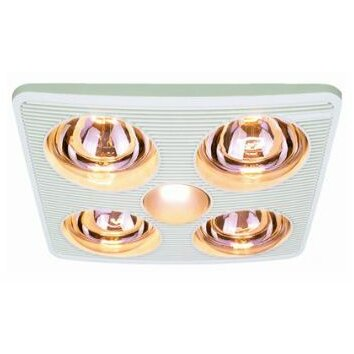 pure 90 cfm bathroom fan with heater and light reviews wayfair