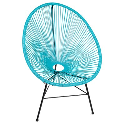 PoliVaz Acapulco Wire Basket Lounge Chair Indoor/Outdoor Stackable