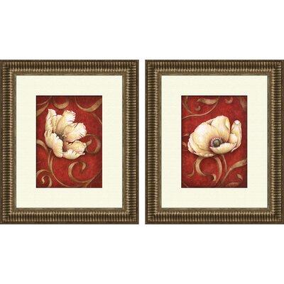 Ptm Images Floral Fantasy 2 Piece Framed Painting Print