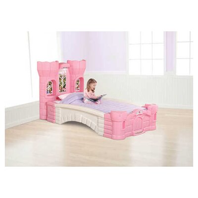 Step2 Children's Furniture Princess Palace Twin Platform Bed