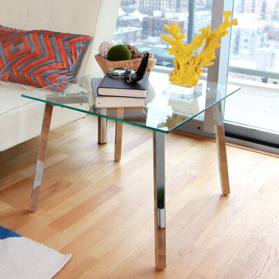 LumiSource Glacier End Table