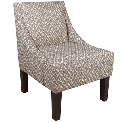 Skyline Furniture Clover Swoop Arm Chair