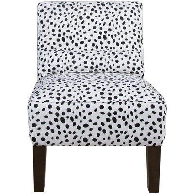 House of Hampton Polka Dot Slipper Chair