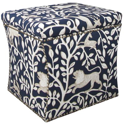 Darby Home Co Agatha Nail Button Storage Ottoman