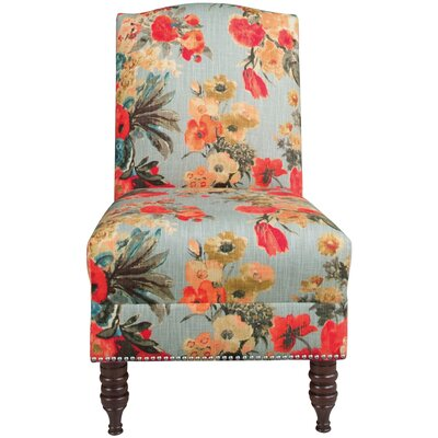 House of Hampton Serville Nail Button Slipper Chair