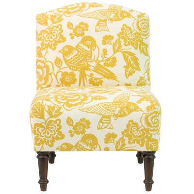 August Grove Dickinson Camel Back Side Chair