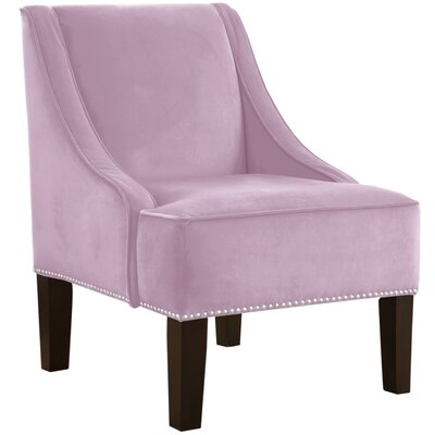 Skyline Furniture Nail Button Swoop Arm Chair