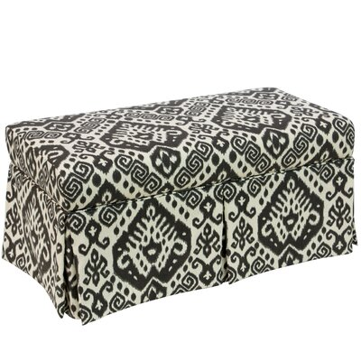 World Menagerie Fukuoka Fabric Upholstered Storage Bench